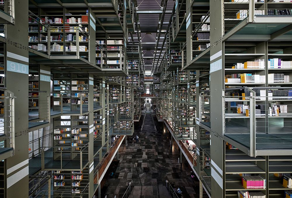 Biblioteca Vasconselos Timothy Neesam via Flickr