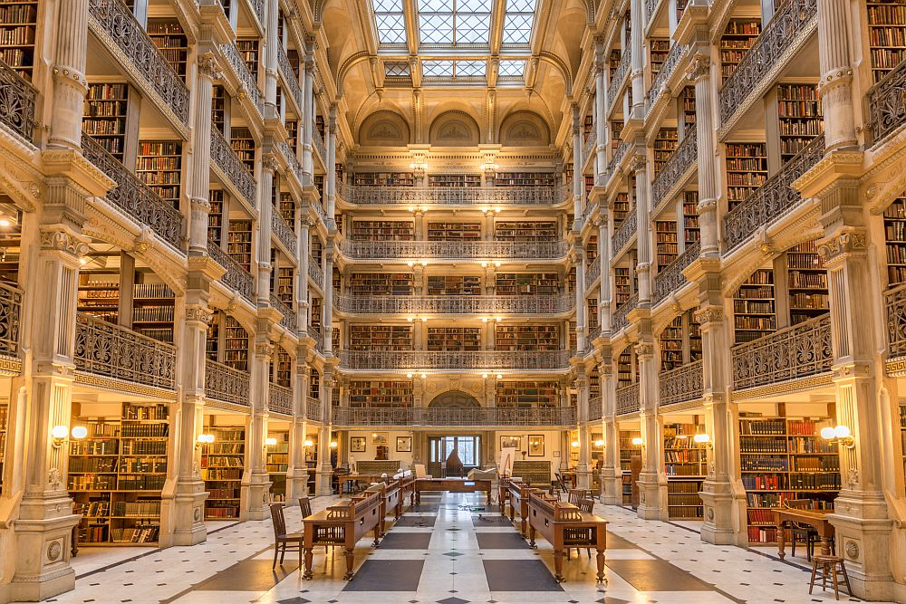 George Peabody Library Patrick Gillespie via Flickr