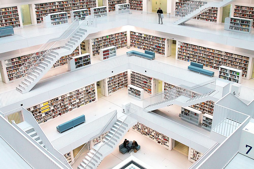 Stuttgart Public Library O Palsson via Flickr