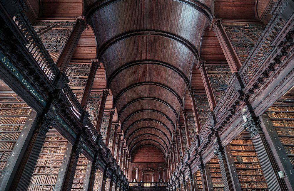 Trinity College Library Rob Hurson via Flickr