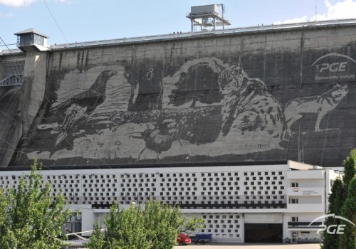 Mariaż sztuki, przyrody i... betonu